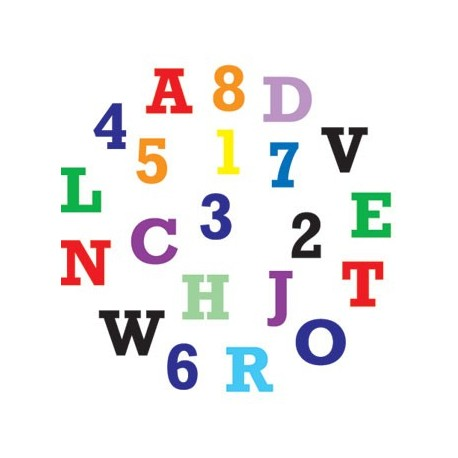 FMM Alphabet & Numbers tappits Upper Case - FMM sugarcraft in vendita su Sugarmania.it