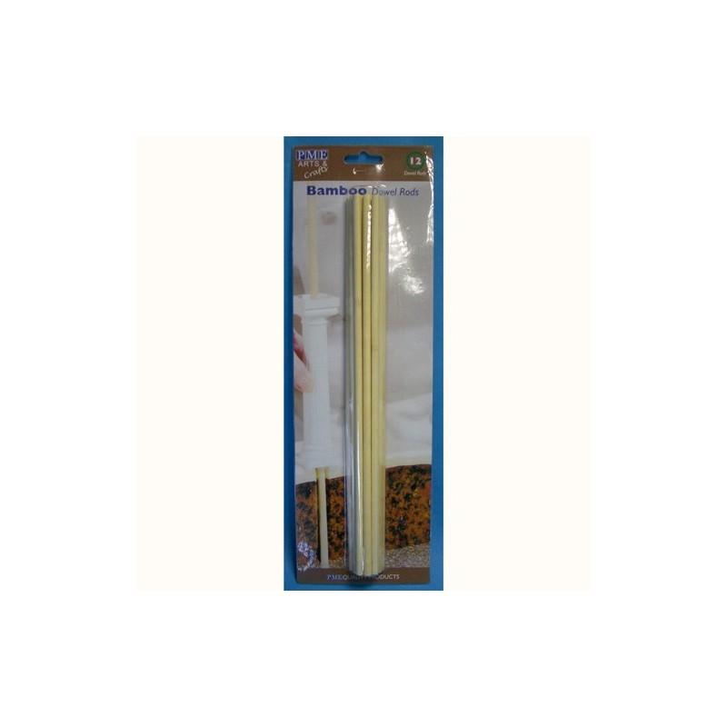 Pioli in bambù PME o Wilton 12 pezzi - PME in vendita su Sugarmania.it