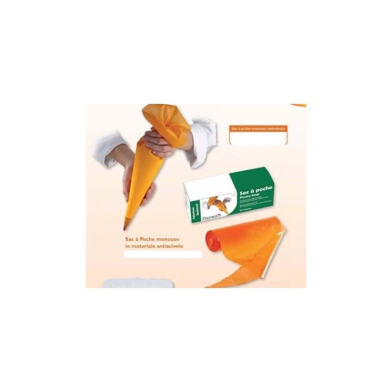 Sac a poche monouso antiscivolo 55 cm 100 pezzi - in vendita su Sugarmania.it