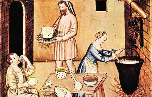 le torte nel medioevo, la storia delle torte