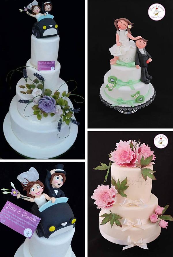 wedding cake e topper personalizzati a Torino